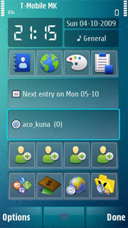 HP S60 5th Edition Nokia Theme Mobile Theme