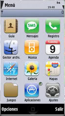 IPhone S60 V5 Theme Mobile Theme