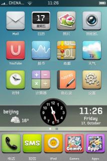 Iphone Theme Mobile Theme