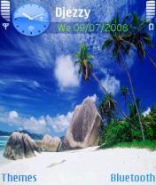 Ocean Palms Mobile Theme