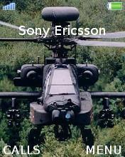 Helicopter Mobile Theme