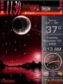 Animated Red Windows Mobile Theme