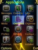 Glow Omnia Icons Mobile Theme