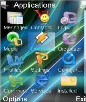Vista Flash Mobile Theme