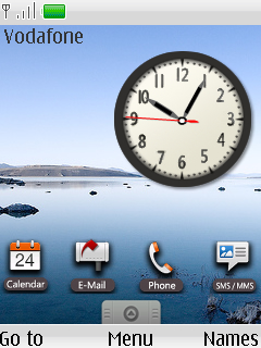 Google Android Clock Nokia S40 Theme Mobile Theme
