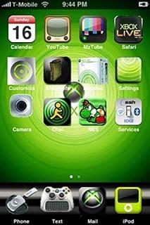 Xbox360 Apple Iphone Theme Mobile Theme