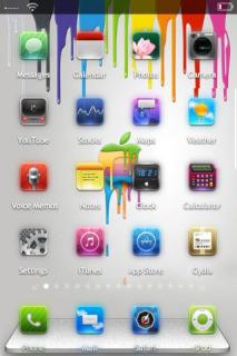 Apple Chromatic Theme Mobile Theme