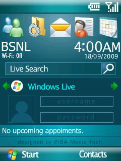 Windows Mobile 6New Theme Mobile Theme