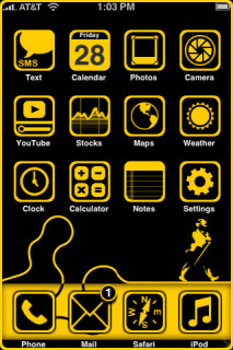 Black Label Apple Iphone Theme Mobile Theme