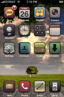 Buff Custome Apple Iphone Theme Mobile Theme