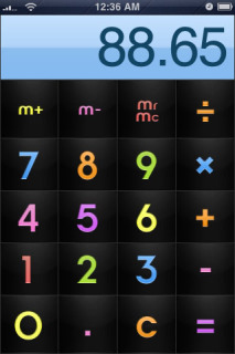 Choco Milk Calculator Apple Iphone Theme Mobile Theme