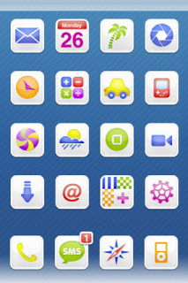 Candy Milk Apple Iphone Theme Mobile Theme