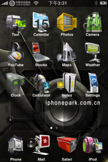 3D Technology Apple IPhone Theme Mobile Theme