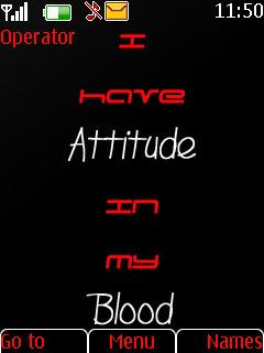 Attitude Nokia Theme Mobile Theme