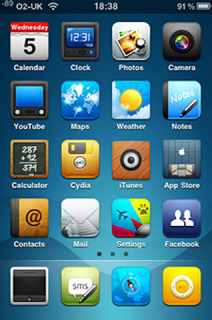 Dreamer Apple IPhone Theme Mobile Theme
