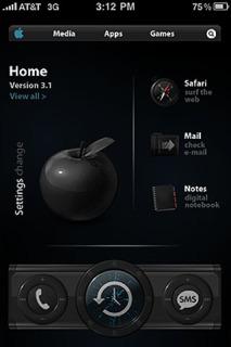 Elliptikal Apple IPhone Theme Mobile Theme