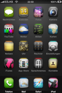 ES HX Apple Iphone Theme Mobile Theme