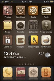 IClassic IPhone Theme Mobile Theme