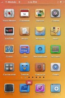 L0rdagsgodis Apple IPhone Theme Mobile Theme