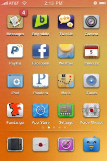 Lord Agsgodis Apple IPhone Theme Mobile Theme