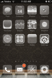 Neue Mystique Apple IPhone Theme Mobile Theme