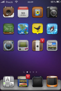 Zosha Apple IPhone Theme Mobile Theme