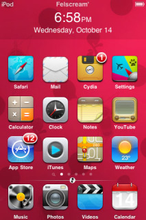 IFels IPhone Theme Mobile Theme