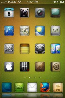 Rezon IPhone Theme Mobile Theme