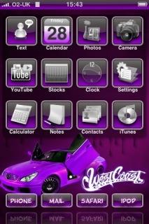 West Coast Apple IPhone Theme Mobile Theme