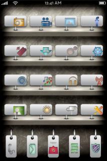 8liasTag IPhone Theme Mobile Theme