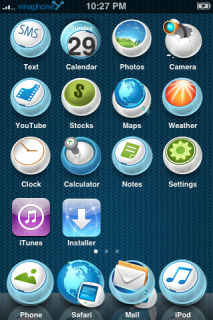 Fin Apple IPhone Theme Mobile Theme