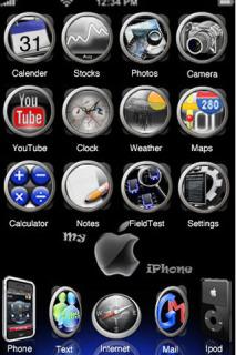 Gun Metal Redux Apple IPhone Theme Mobile Theme