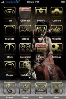 Hankai IPhone Theme Mobile Theme