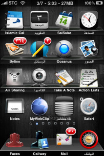 IBugnah 3G Apple IPhone Mobile Theme