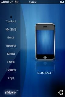 INav Beta Apple IPhone Theme Mobile Theme
