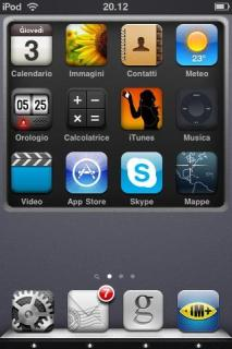 ISimply3001 IPhone Theme Mobile Theme