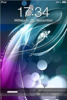 Lockscreen Apple IPhone Theme Mobile Theme
