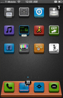 Perspection Apple IPhone Theme Mobile Theme