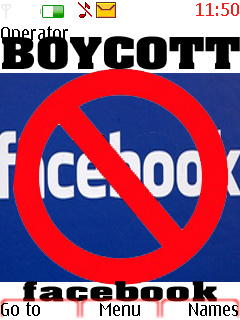 Boycott Face Book Nokia Theme Mobile Theme