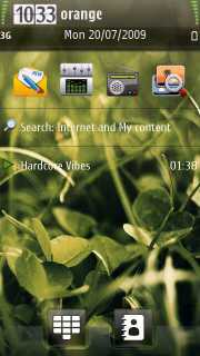 Se7en Green Nokia Theme Mobile Theme