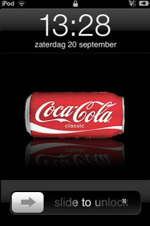 Coka Cola Apple IPhone Theme Mobile Theme