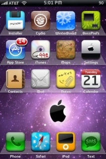 Colson Mitchum Apple IPhone Theme Mobile Theme