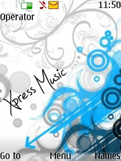 Vector Xpressmusic Nokia Theme Mobile Theme