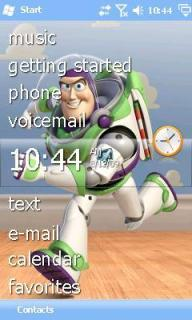 Buzz Lightyear Htc Theme Mobile Theme