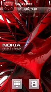 Abstract Nokia Theme Mobile Theme
