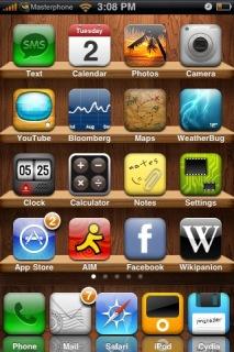 4Shelves Apple IPhone Theme Mobile Theme