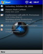 Blue Background2 Htc Theme Mobile Theme