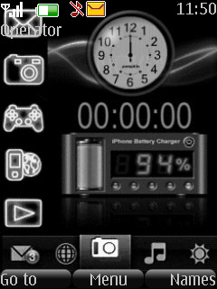 Nokia Digital Animated Theme Mobile Theme