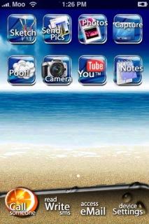 Fresh IPhone Apple IPhone Theme Mobile Theme