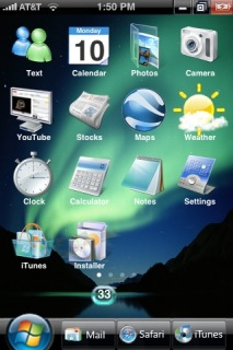 Specical Apple IPhone Theme Mobile Theme